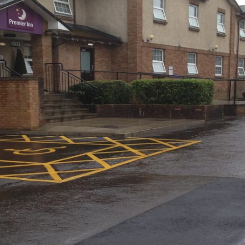 Grounds Maintenance at Premier Inn
