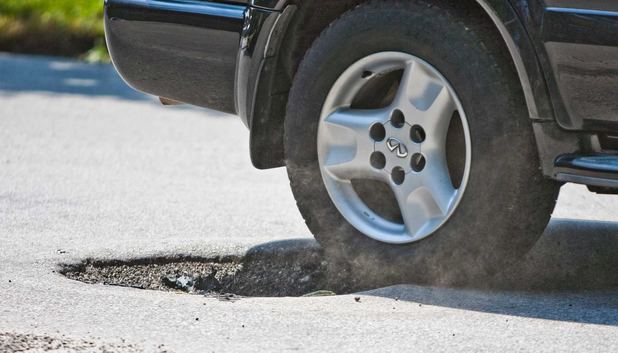 Are You 'Tyred' of Potholes Damaging Your Car?